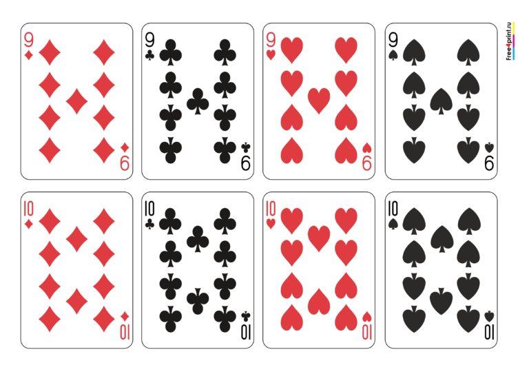 Как сделать игральные карты своими руками 85