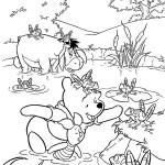 Винни-пух с друзьями на болоте