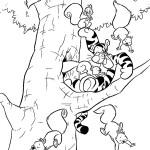 Тигра из мультфильма Винни-Пух