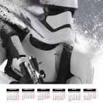Календарь 2016 Star wars