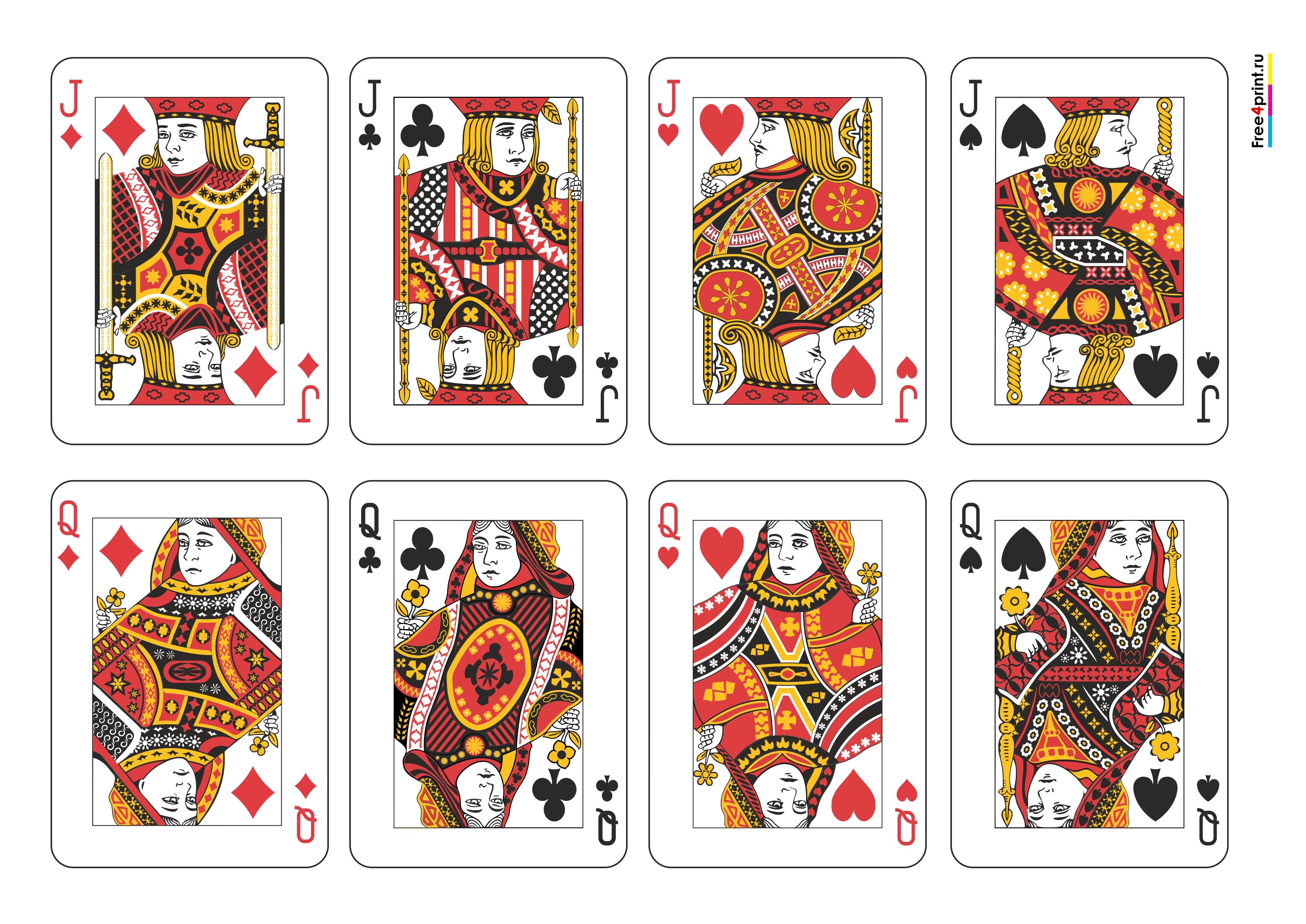 карты игральные карты фото