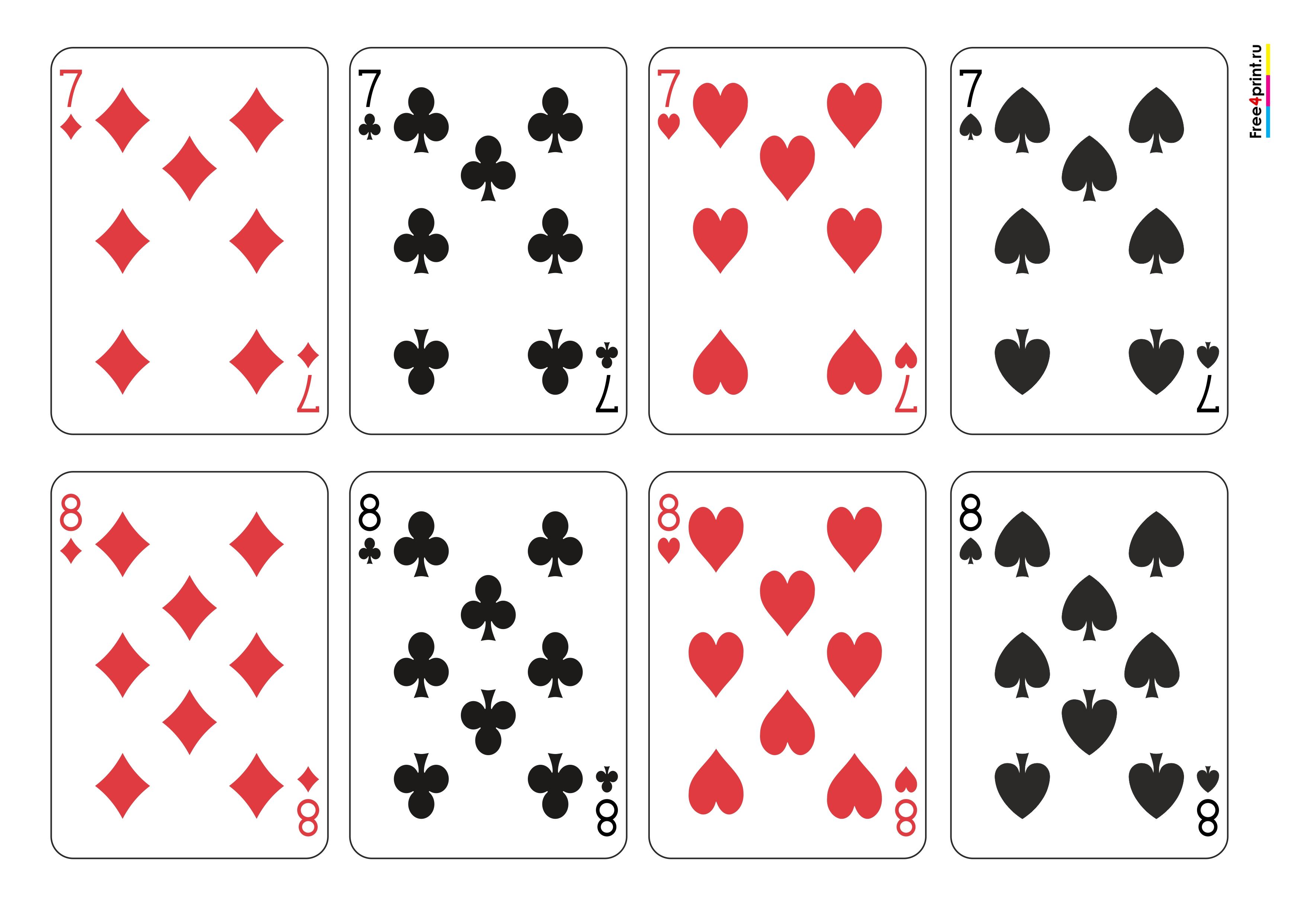 игральные карты покер