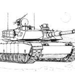 Раскраски с танками