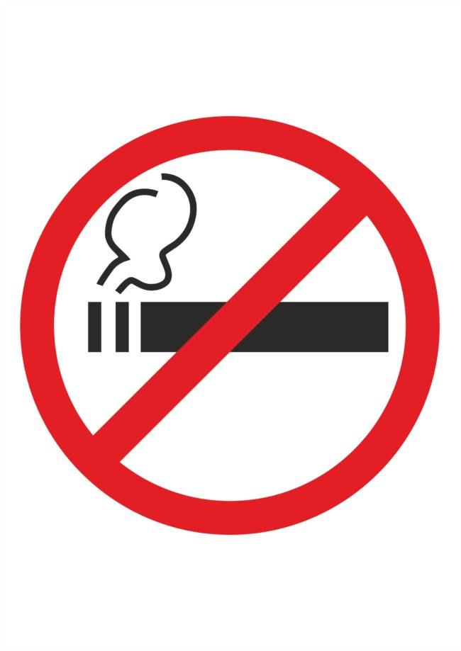 """Знак """"Курение запрещено"""" в соответствии с ГОСТ"""